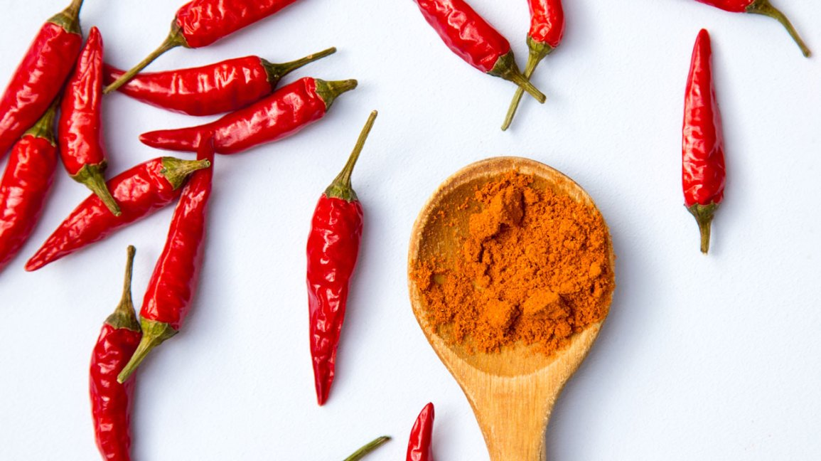 Red chili can prevent heart attack